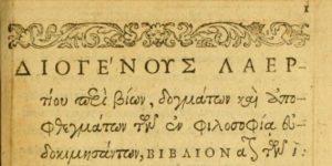Діоген книга про грецьких філософів