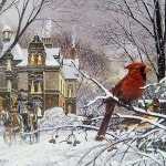Різдво та червоний кардинал книга
